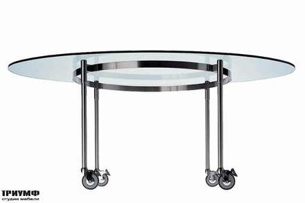 Итальянская мебель Driade - Стол на колесах Ito