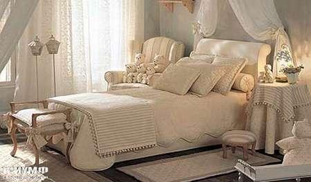 Итальянская мебель Halley - Детская Camargue кровать Burton 1CA