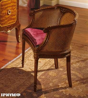 Итальянская мебель Colombo Mobili - Кресло кол. Boccherini арт.6460 вишня