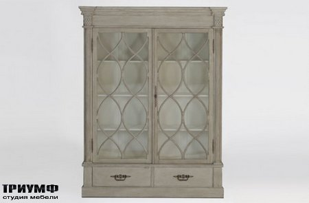 Американская мебель Gabby - Grace Farmhouse Style China Cabinet