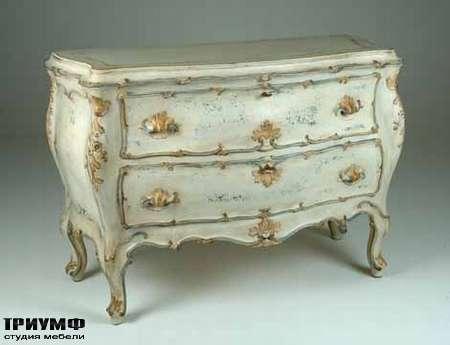 Итальянская мебель Chelini - Комод под старину с ящиками  арт.1219