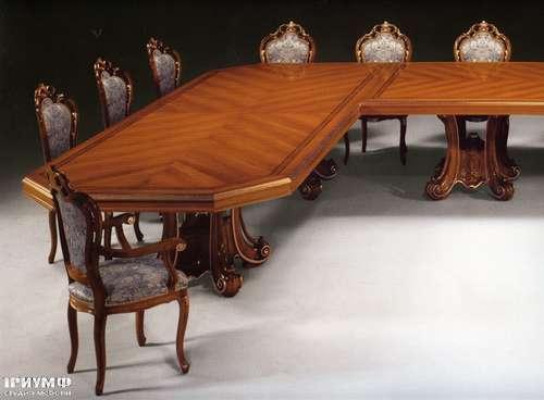 Итальянская мебель Citterio Fratelli - Стол классический угловой