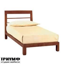Итальянская мебель Morelato - Односпальная кровать с изголоьвем