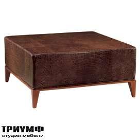 Итальянская мебель Morelato - Столик обтянутый кожей