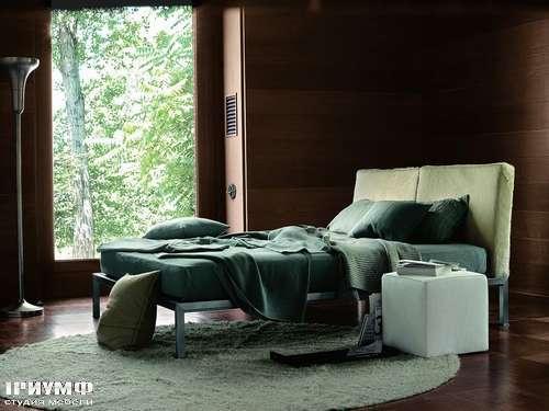 Итальянская мебель Ivano Redaelli - Кровать Gio двухместная