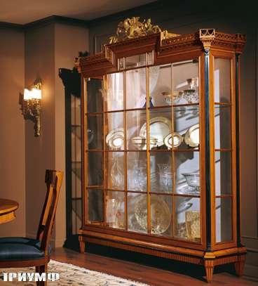 Итальянская мебель Colombo Mobili - Витрина в стиле Бидермайер арт. 120 кол. Rossini