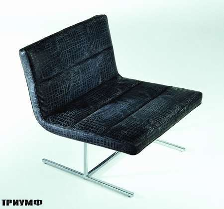 Итальянская мебель Rivolta - кресло Self в коже