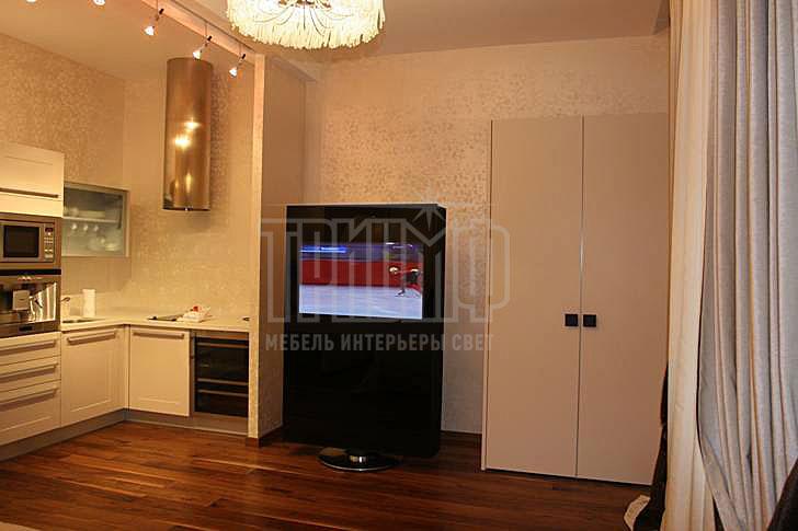 Небольшая квартира-студия на ул. Пырьева. Студия Триумф