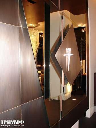 Итальянская мебель Rugiano - Полка навесная с дверьми