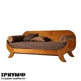Итальянская мебель Morelato - Диван-ладья в дереве
