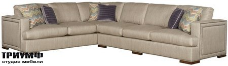 Американская мебель Vanguard - Mulholland Left Right Arm Corner Sofa