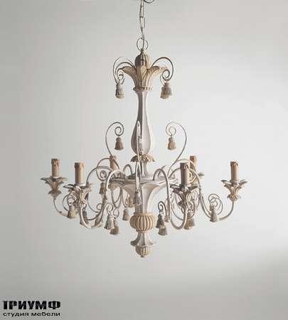 Итальянская мебель Chelini - Люстра без плафонов классическая