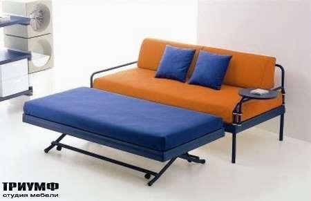 Итальянская мебель Di Liddo & Perego - Диван Cubik Gallery раскладной с кроватью