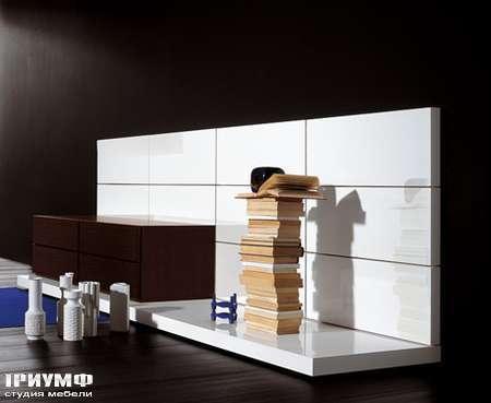 Итальянская мебель Pianca - Стенка с ящиками, композиция People