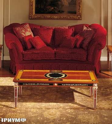 Итальянская мебель Colombo Mobili - Столик журнальный арт.150.125 кол. Leoncavallo