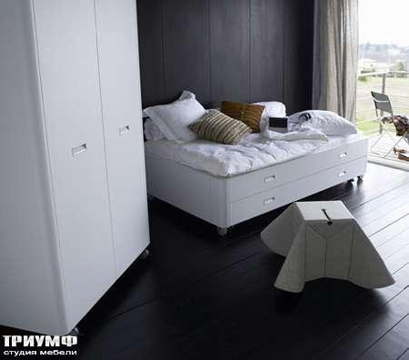 Итальянская мебель Ligne Roset - кровать Travel Studio