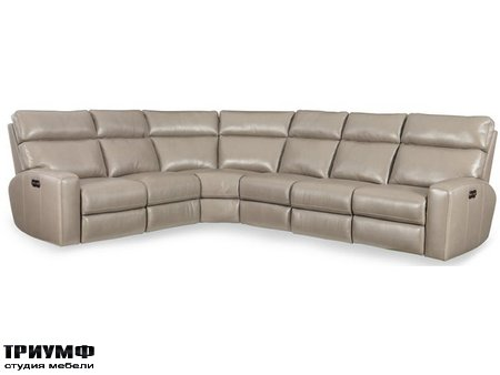 Американская мебель Hooker firniture - Mowry 4 PC Power Motion Sectional
