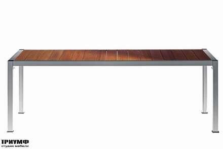 Итальянская мебель Driade - Стол с деревянной столешницей