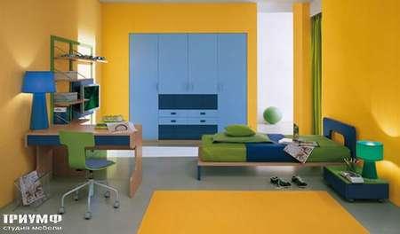 Итальянская мебель Julia - Кровать модерн, модель smail