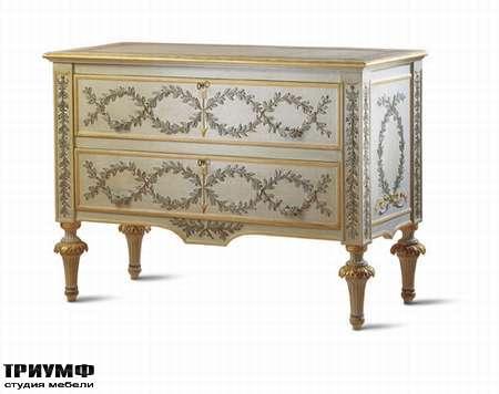 Итальянская мебель Chelini - Комод античный арт.525