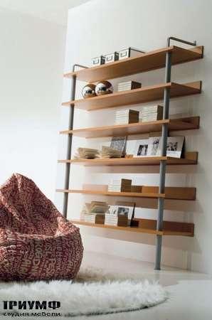 Итальянская мебель Di Liddo & Perego - Стеллаж открытый на каркасе