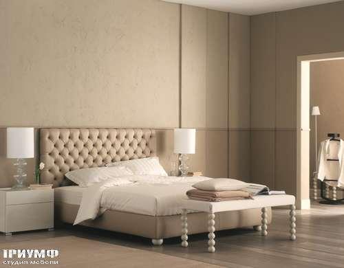 Итальянская мебель Flou - кровать chesterbed