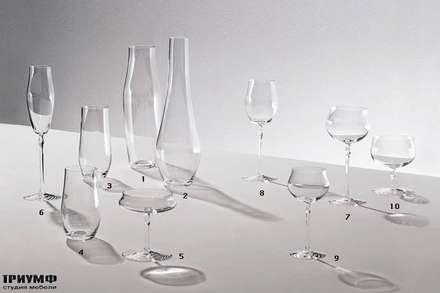 Итальянская мебель Driade - Набор из стекла