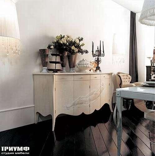 Итальянская мебель Giusti Portos - Комод с рисунком