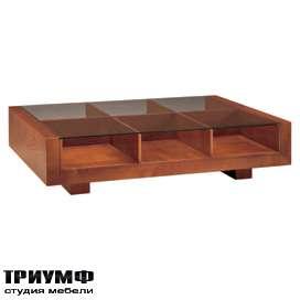 Итальянская мебель Morelato - Столик с отсеками для хранения