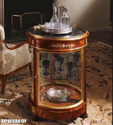 Итальянская мебель Colombo Mobili - Витрина-тумба арт.252 кол. Pergolesi