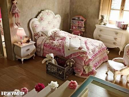 Итальянская мебель Volpi - кроватка детская Serena