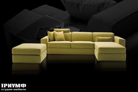 Итальянская мебель Milano Bedding - мягкий уголок Melvin