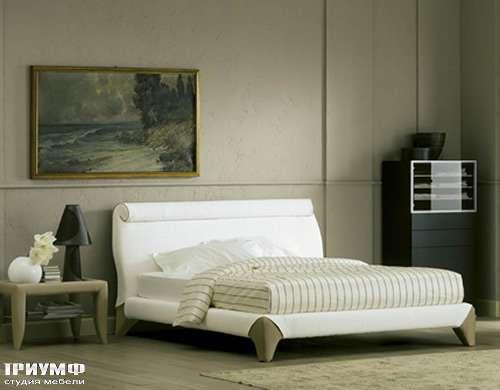 Итальянская мебель Flou - кровать chocolat
