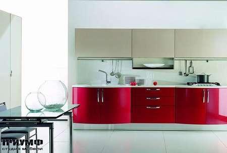 Итальянские кухни Tomassi cucine - andromeda. rosso rubino