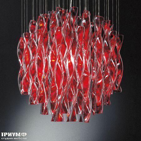 Итальянские светильники Axo light - aura_red