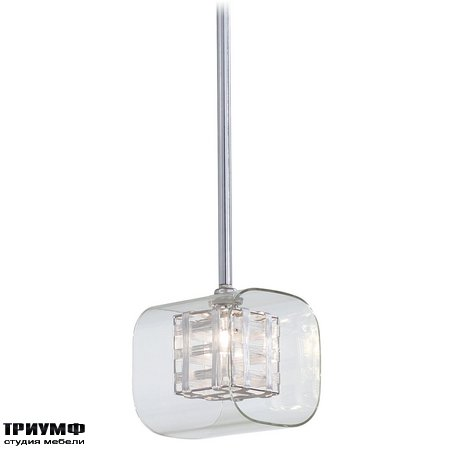 Американская мебель George Kovacs - 1 Light Mini Pendant with Chrome finish