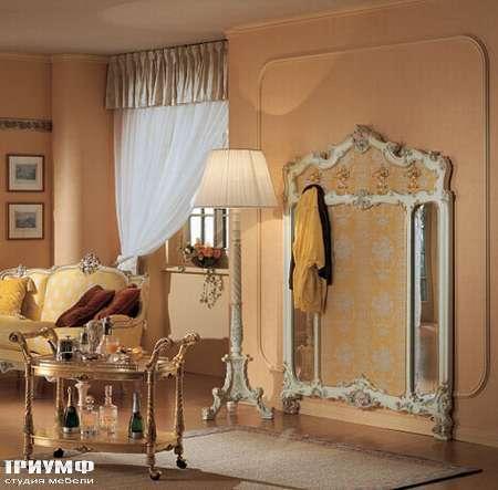 Итальянская мебель Silik - Панель для одежды с зеркалами