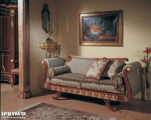Диван двухместный D399, the upholstery collection