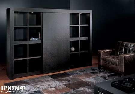 Итальянская мебель Smania - Стенка с раздвижной дверью и баром, Barbook DeLuxe