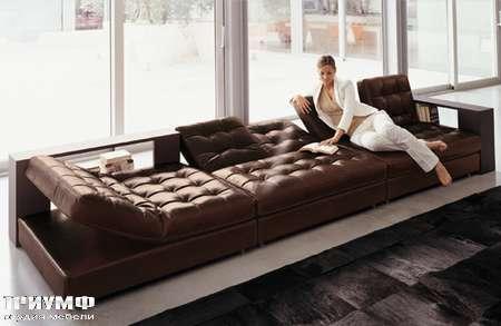 Итальянская мебель Love Luxe (Longhi) - Диван модерн трансформируемый Strike