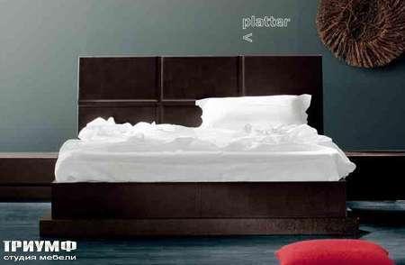 Итальянская мебель Varaschin - кровать Platter