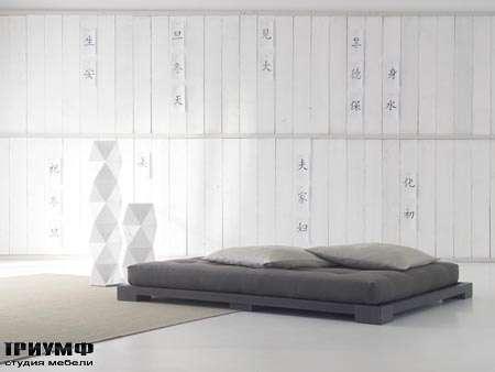 Итальянская мебель Orizzonti - кровать Andaman Tatami 1