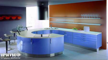 Итальянские кухни Tomassi cucine - andromeda. azzurro flow