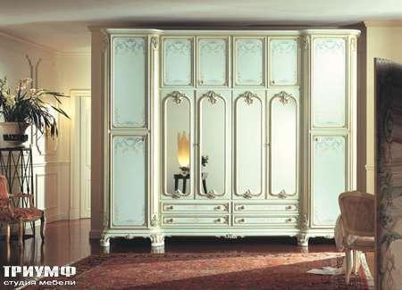 Итальянская мебель Silik - Шкаф с антрисолями Morgana