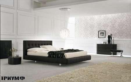 Итальянская мебель Presotto - кровать Aqua-2 в дереве