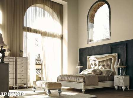 Итальянская мебель Volpi - кровать Botero