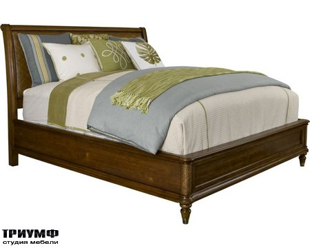 Американская мебель Broyhill - Amalie Bay Sleigh Bed