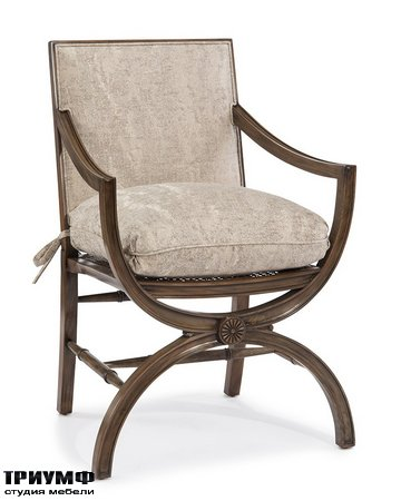 Американская мебель John Richard - Armchair with Arabesque Back
