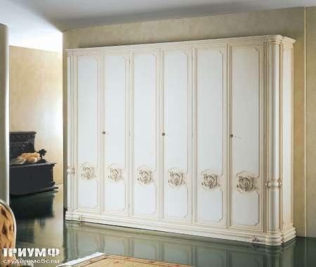 Итальянская мебель Silik - Шкаф с боковыми колоннами Niobe