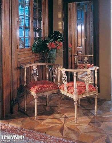 Итальянская мебель Francesco Molon - Полукресло классическое резное